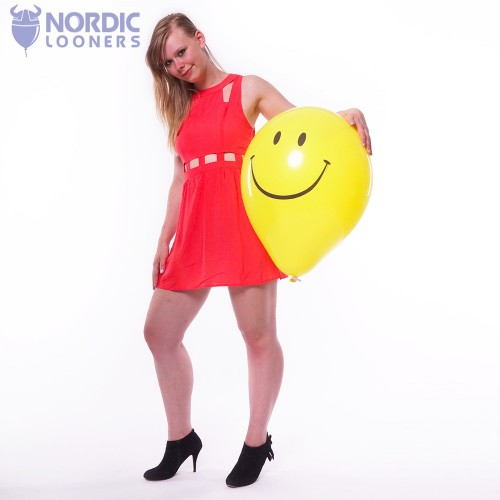 "Qualatex 16\"" Smiley #39299 4,84 DKK Nordic Looners"