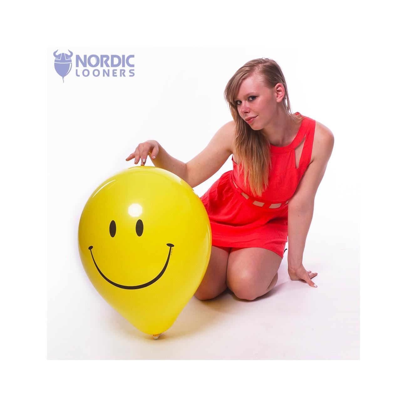 "Qualatex 16\\"" Smiley #39299 4,84 DKK Nordic Looners"