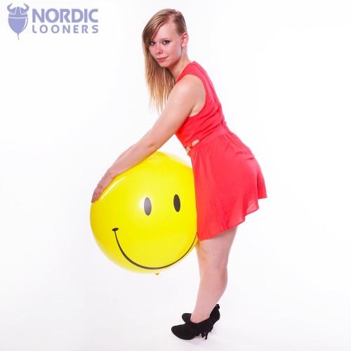 "Qualatex 36\\"" Smiley #29211 43,71 DKK Nordic Looners"