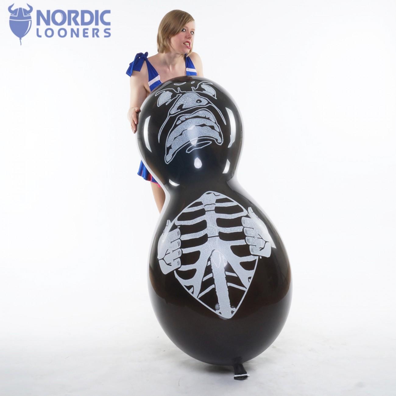 """Cattex 67\\"""" Skeleton Monster GPF/7DS.H4781B 31,32 DKK Nordic Looners"""