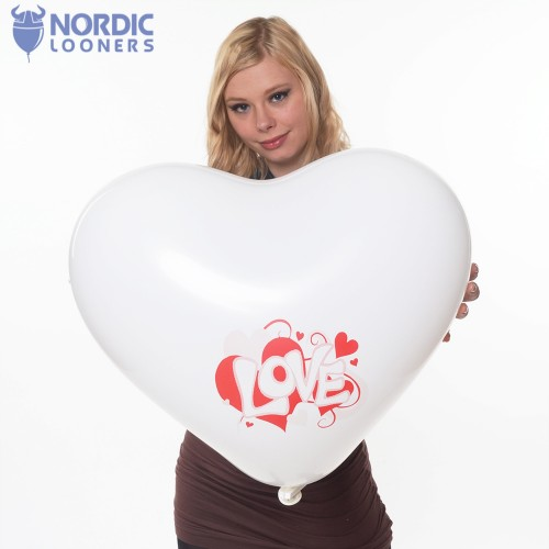 "Cattex 17\"" Heart - Love you GPF/6.L1191C 2,90 DKK Nordic Looners"