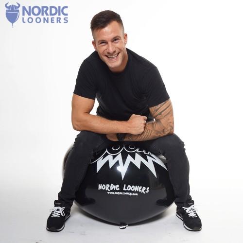 "Nordic Looners 45"" BOOM! 68,75 DKK NL45-Boom Nordic Looners"