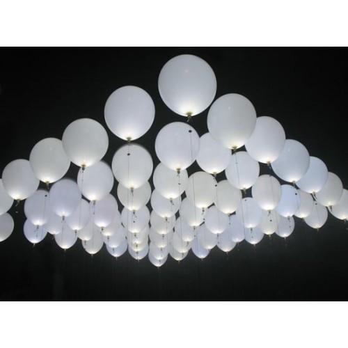 Ballon lys dioder Hvid