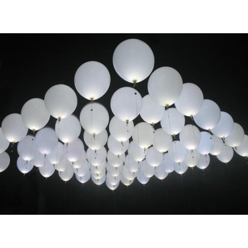 Balloon LED's White A032 8,37 DKK Nordic Looners