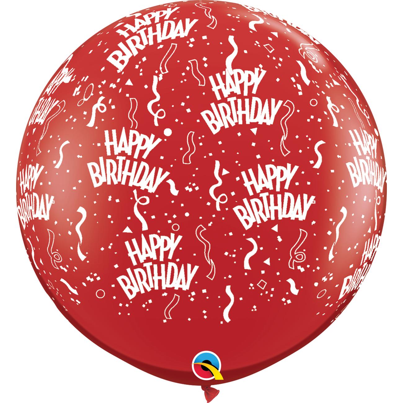 "Qualatex 36\"" Birthday-A-Round #28179 47,90 DKK Nordic Looners"