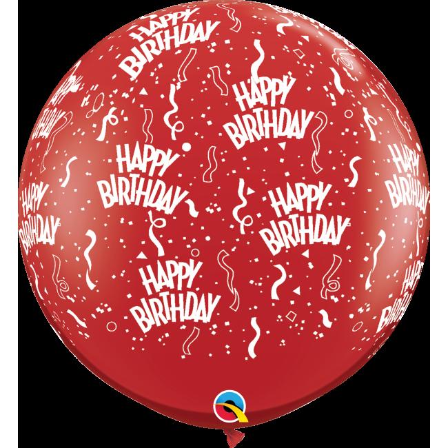 "Qualatex 36"" Birthday-A-Round"