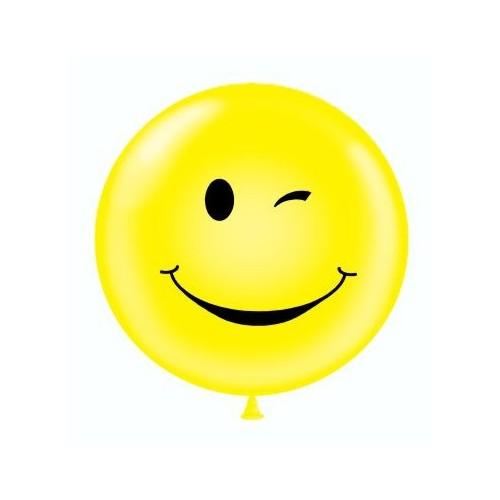 """Tuf-Tex 24"""" (61cm) Winking Smile Face"""