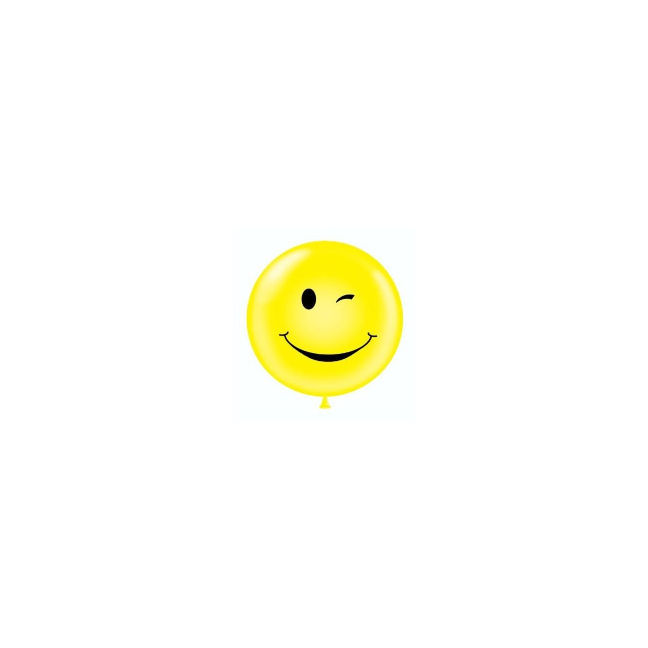 "Tuf-Tex 24\\"" (61cm) Winking Smile Face TT24-Winks-Single 20,00 DKK Nordic Looners"
