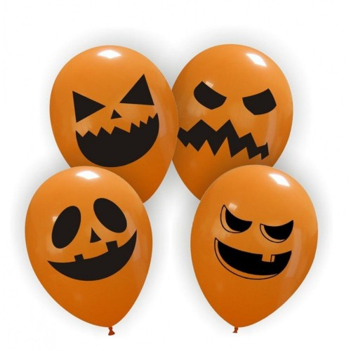 "Cattex 12"" Pumpkin faces PT/110DS.Pumpkins 0,93 DKK Nordic Looners"