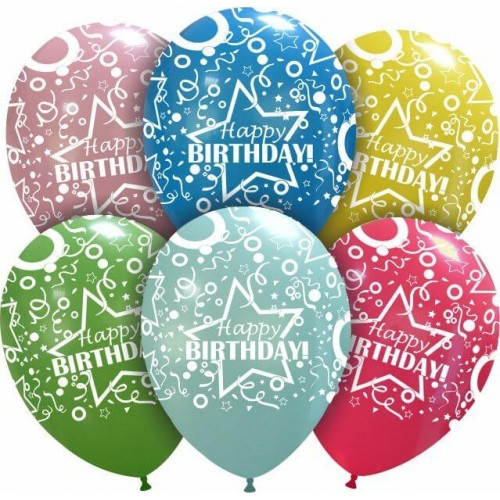 "Cattex 12"" Crazy Birthday PT/110DS 1,06 DKK Nordic Looners"