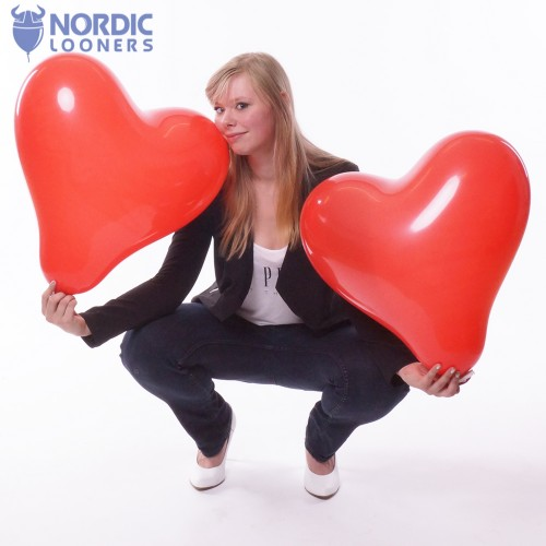 "Cattex 17"" Heart GPF/6 2,31 DKK Nordic Looners"