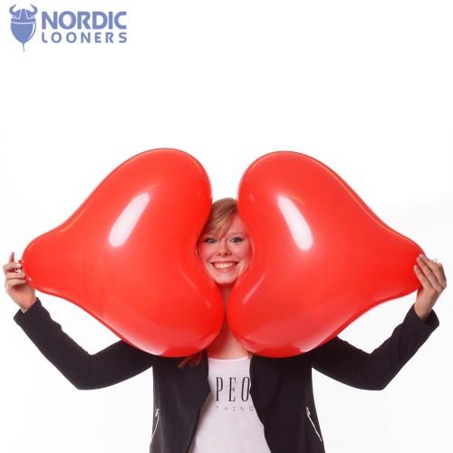 "Cattex 17\\"" Heart GPF/6 2,31 DKK Nordic Looners"